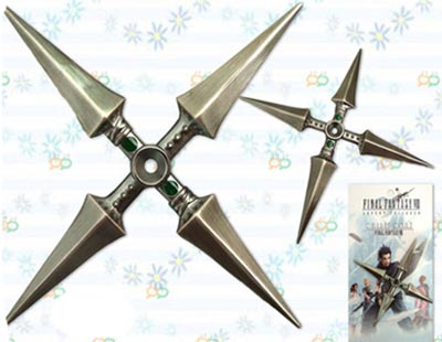 Final Fantasy Yuffie Shuriken Miniature