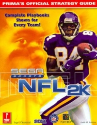 NFL 2K Official Strategy Guide Book