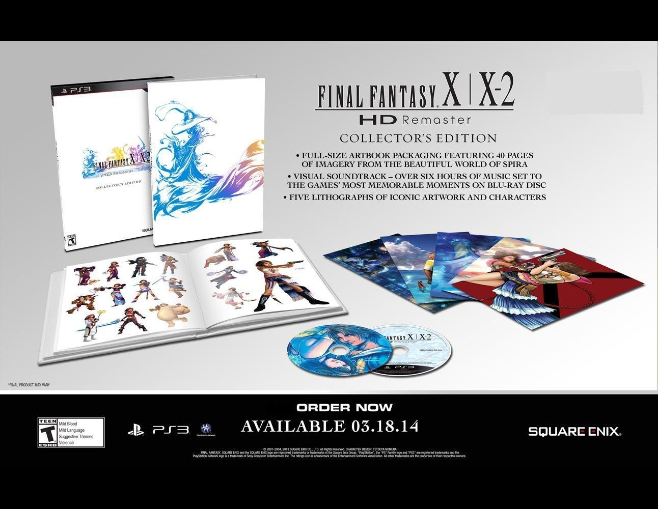 Final Fantasy X | X-2 HD Remaster Collector's Edition