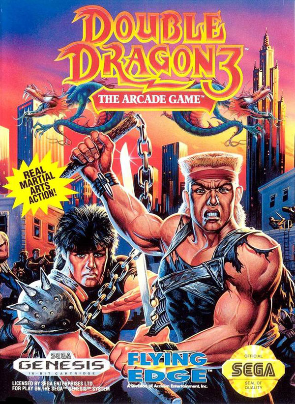 Double Dragon 3: Arcade Game