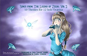 Legend of Zelda Songs from Zelda: Volume 2