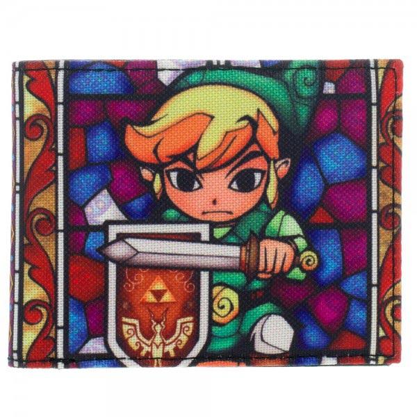 Legend of Zelda: Wind Waker Link Canvas Wallet