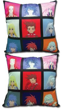 Tales of Symphonia: Skit Faces Pillow