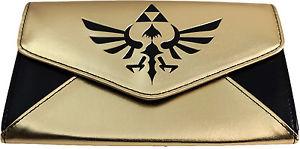 Legend of Zelda: Skyward Sword Envelope Gold Wallet