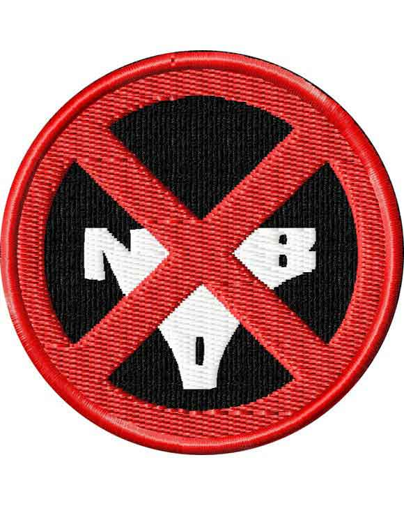 KILL la KILL: Nudist Beach Rebels Logo Patch