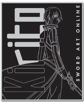 Sword Art Online: Kirito Line Art Throw Blanket