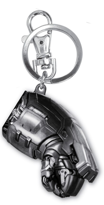 Avengers Age of Ultron Hulkbuster Fist Pewter Keyring