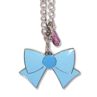 Sailor Moon Sailor Mercury Ribbon Necklace
