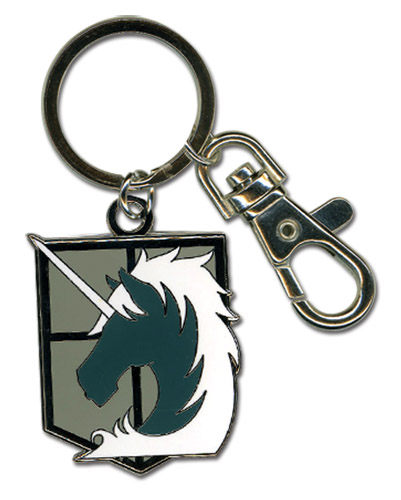 Attack on Titan: Military Police Metal Keychain