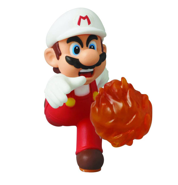 Nintendo Super Mario Bros Fire Mario Series 2 Figure