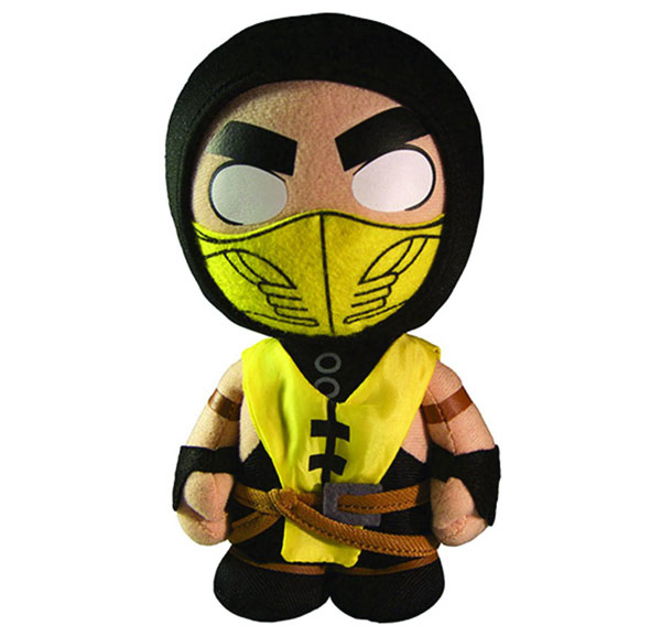 Mortal Kombat X: Scorpion 8 Inch Plush