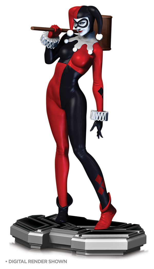 DC Comics Icons Harley Quinn Limited Edition Statue