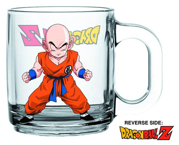 Dragon Ball Z Krillin Glass Coffee Mug