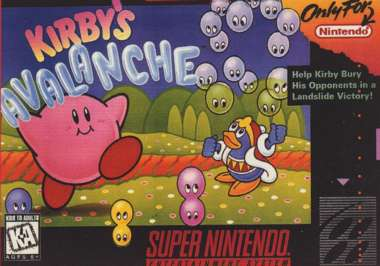 Kirby's Avalanche (Instruction Manual)