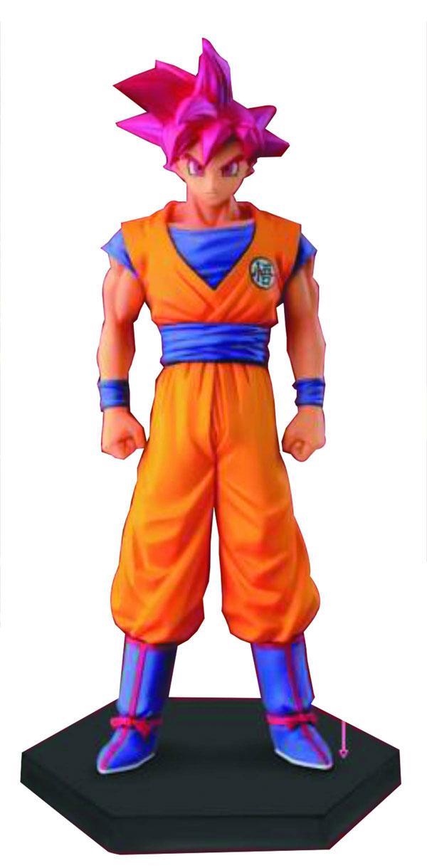 Dragon Ball Z Chozousyu Volume 3 5.9 Inches God Son Goku Figure