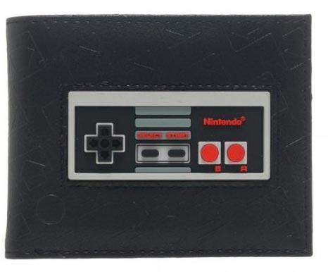 Nintendo Controller Rubber Inlay Bi-Fold Wallet