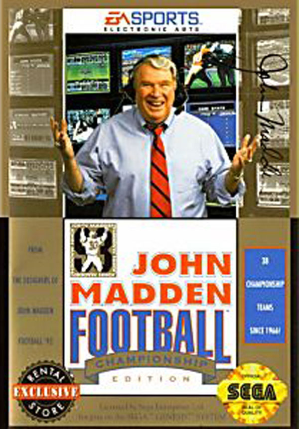 John Madden Football '93 Championship Edition