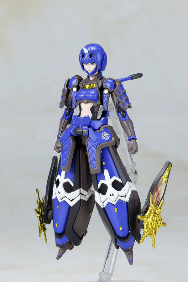 Phantasy Star Online II 6 Inch Indigo Guardian Shiki Version Model Kit