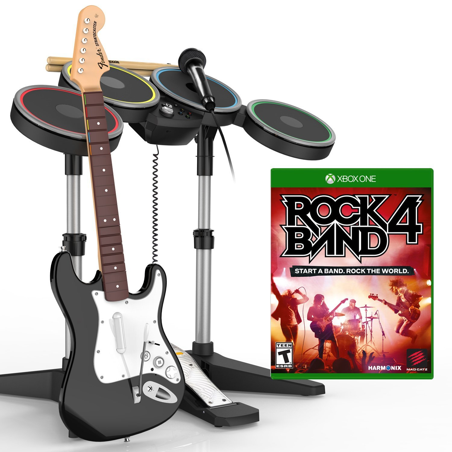 Rock Band 4 Band-in-a-Box Software Bundle