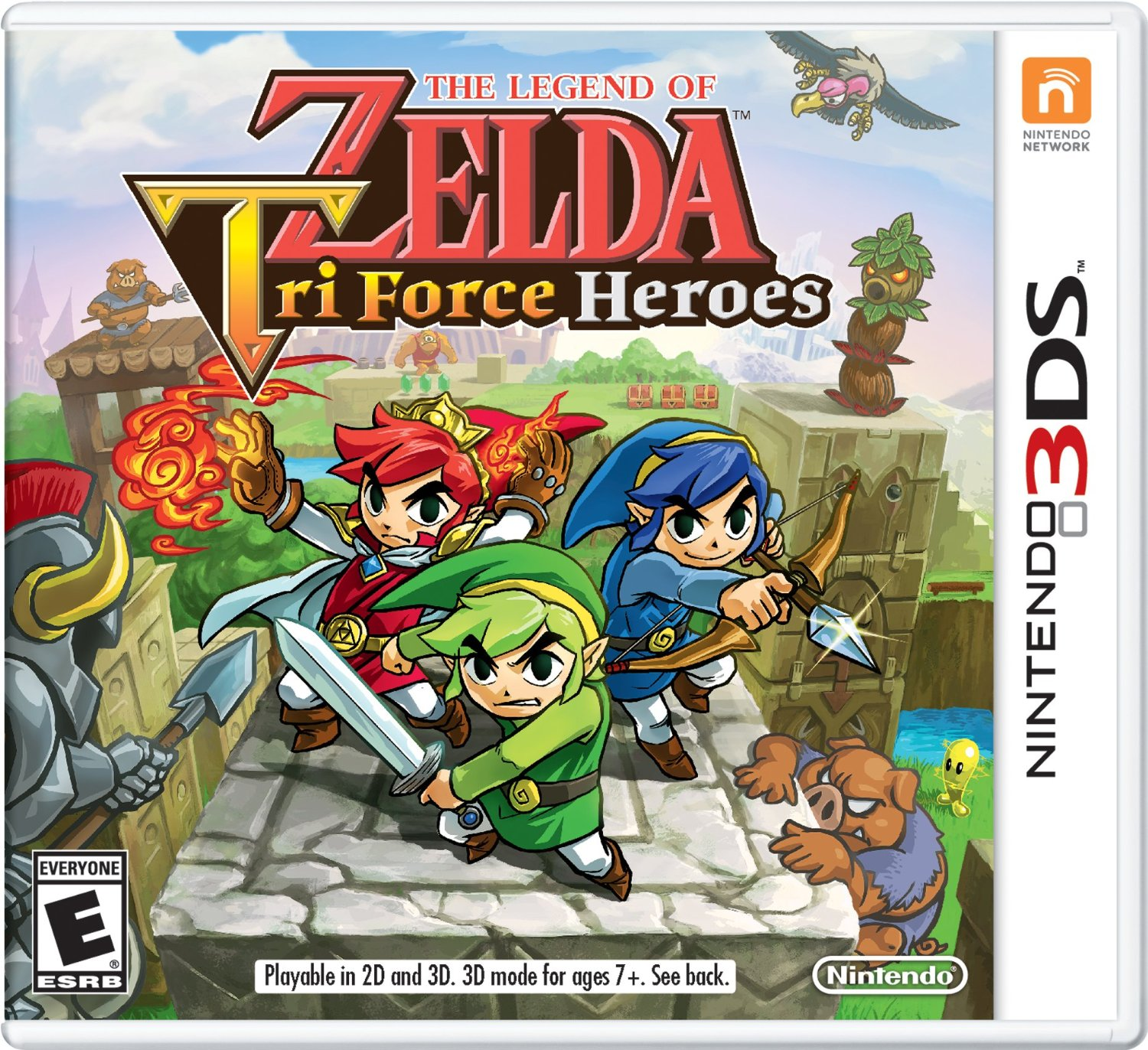 Legend of Zelda: Tri Force Heroes Standard Edition Guide by Prima