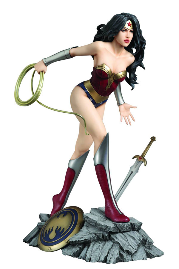 Fantasy Figure Gallary DC Comics Collection Wonder Woman Statue