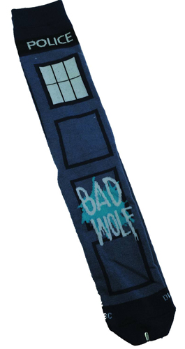 Doctor Who Bad Wolf Crew Socks