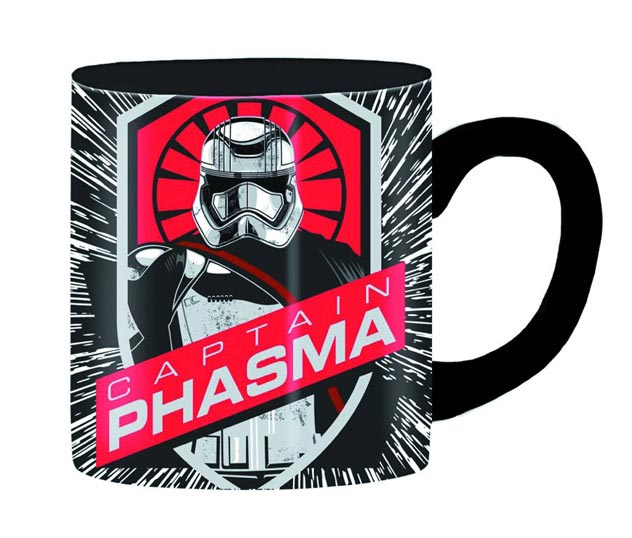 Star Wars E7 Captain Phasma Burst 14oz Ceramic Mug