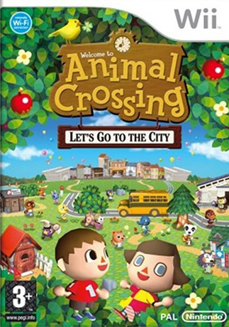 Animal Crossing: City Folk with Wii Speak Microphone Bundle