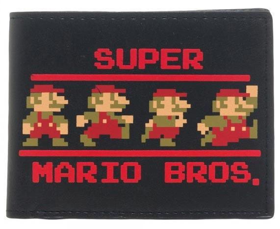 Super Mario 8-bit Bi-Fold Wallet