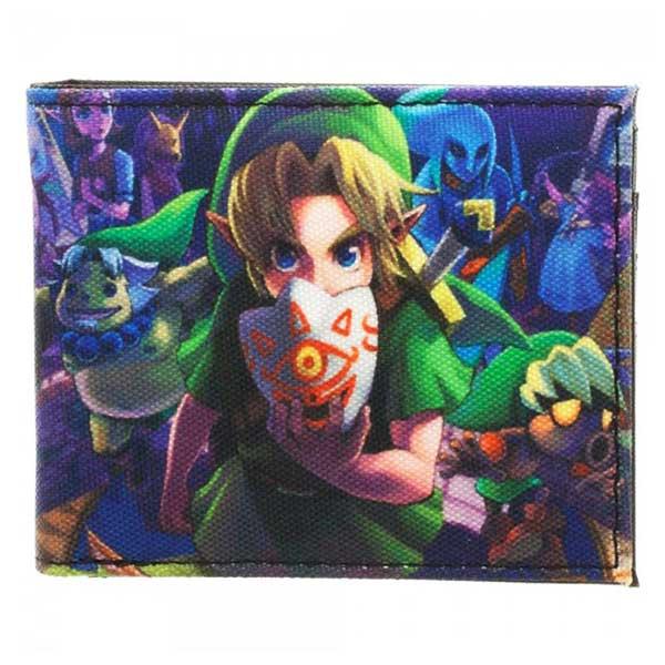 Legend of Zelda: Majora's Mask Sublimated Bi-Fold Wallet