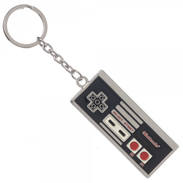 Nintendo Classic Controller Metal Keychain