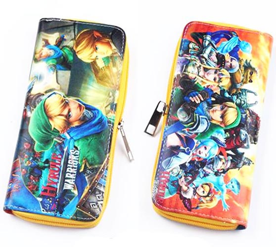 Legend of Zelda Hyrule Warriors Zip Around Wallet