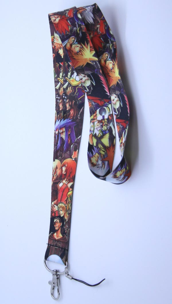 Kingdom Hearts II Organization XIII Lanyard