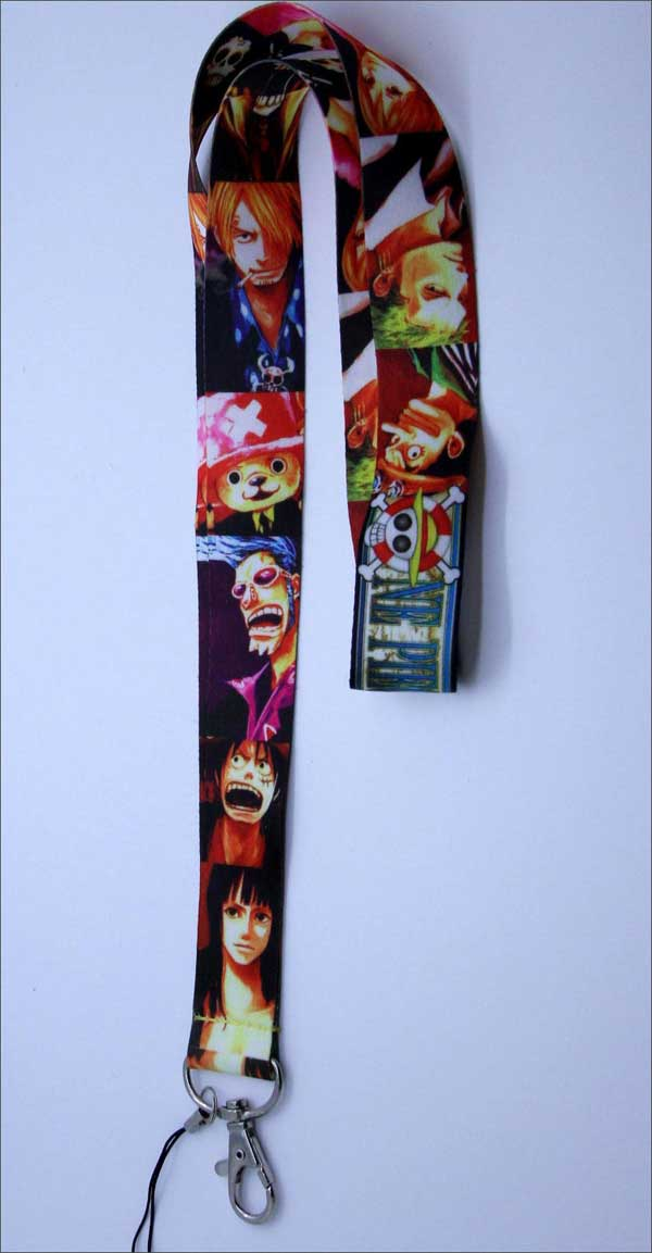 One Piece Character Lanyard