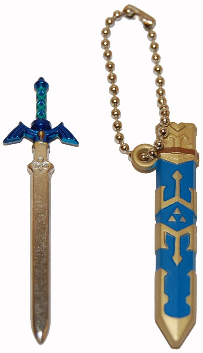 Legend of Zelda Skyward Sword Master Sword Keychain
