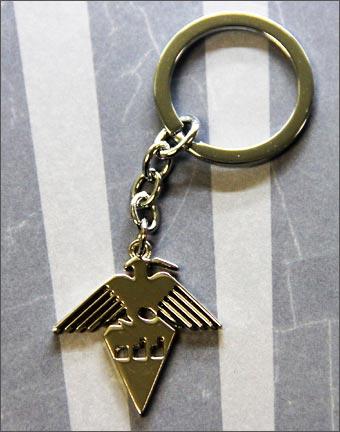 Dangan Ronpa School Emblem Keychain