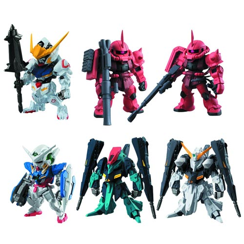Gundam Converge #2 Trading Figures