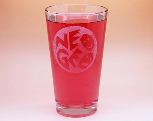 Arts & Crafts: NEOGEO Custom-made 16oz Glass
