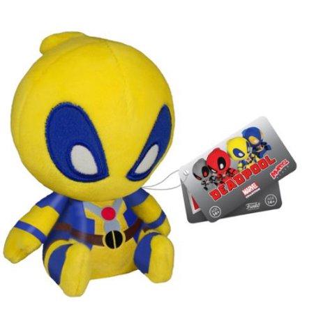 Marvel Deadpool 4.5 Inch Plush Yellow
