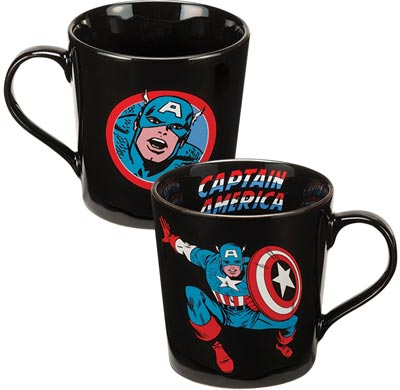 Marvel Captain America 12oz Ceramic Mug