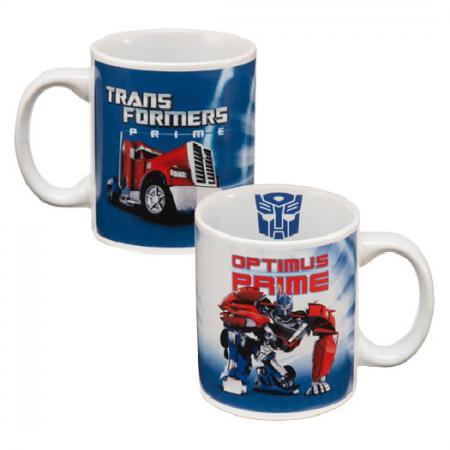 Transformers Prime Optimus 12oz Ceramic Mug