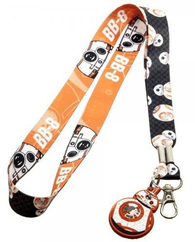 Star Wars BB-8 Lanyard with Charm