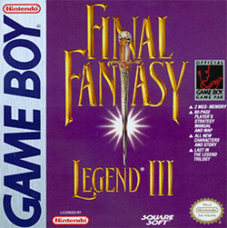 Final Fantasy Legend III (Instruction Manual)