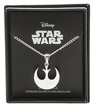 Star Wars Rebel Alliance Silver Plated Necklace