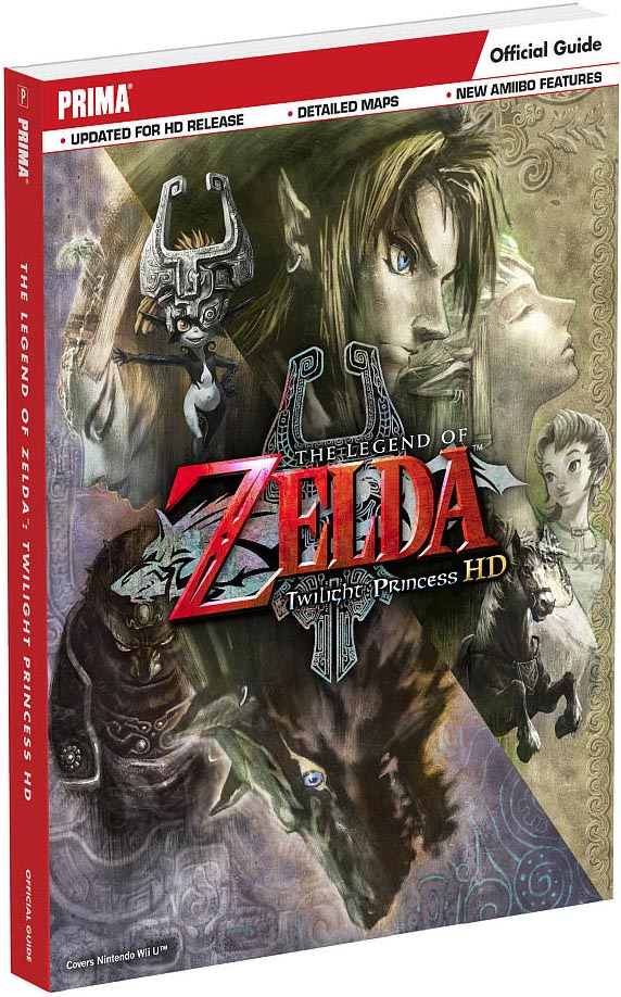 Legend of Zelda: Twilight Princess HD Prima Strategy Guide