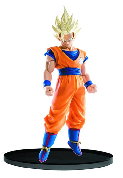 Dragon Ball Super Big Sculpture Budokai SS2 Goku 7 Inch Figure