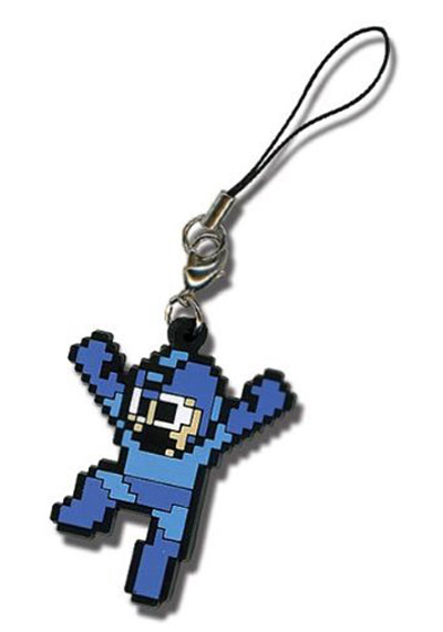 Mega Man X: Mega Man Cell Phone Charm