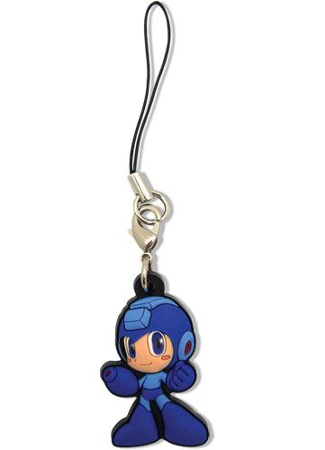 Mega Man: Powered Up Mega an PVC Cell Phone Charm