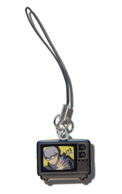 Persona 4 Yu Metal Cell Phone Charm