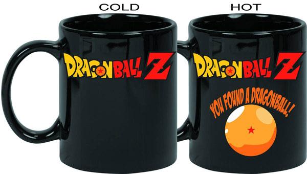 Dragon Ball Z Logo Heat Change 11oz Mug